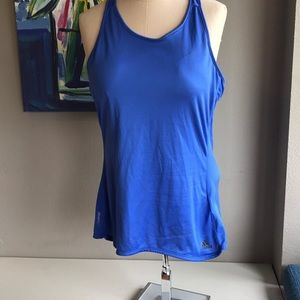 Adidas tank top with bra pads NWOT